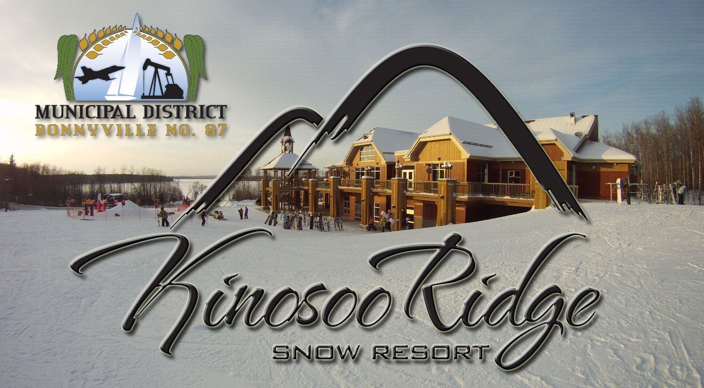 kinosoo logo over chalet pic